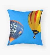 The ballons in air Throw Pillow