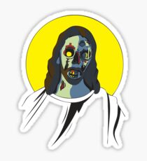 Zombie Jesus [without text] Sticker