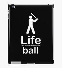 Ball v Life - Black iPad Case/Skin