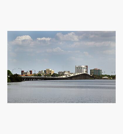 Hancock Bridge on the Caloo Photographic Print