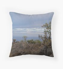 El Mudo, La Palma, Islas Canarias Throw Pillow