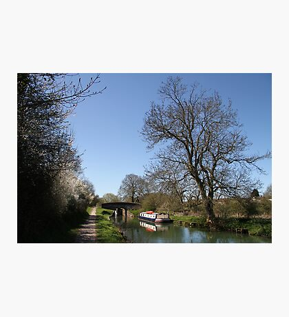 Bridge Near Bedwin - Kennet and Avon Canal Photographic Print