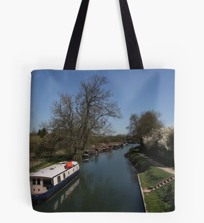 View From A Bridge - Kennet and Avon Canal Tote Bag