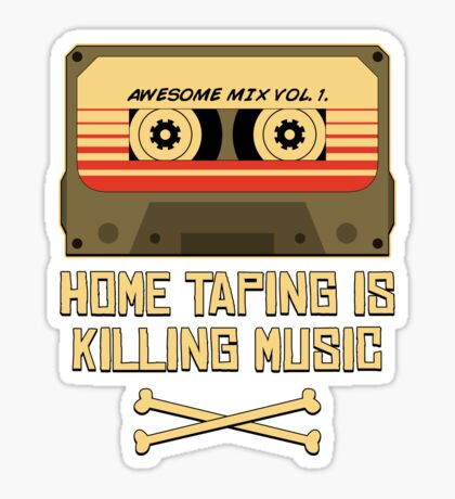Guardians of the Music Industry Sticker