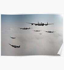 Spitfire Escort Poster