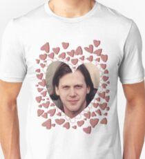 heart shaped jeff mangum  Slim Fit T-Shirt