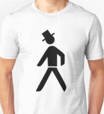 Geeky Man with hat Unisex T-Shirt