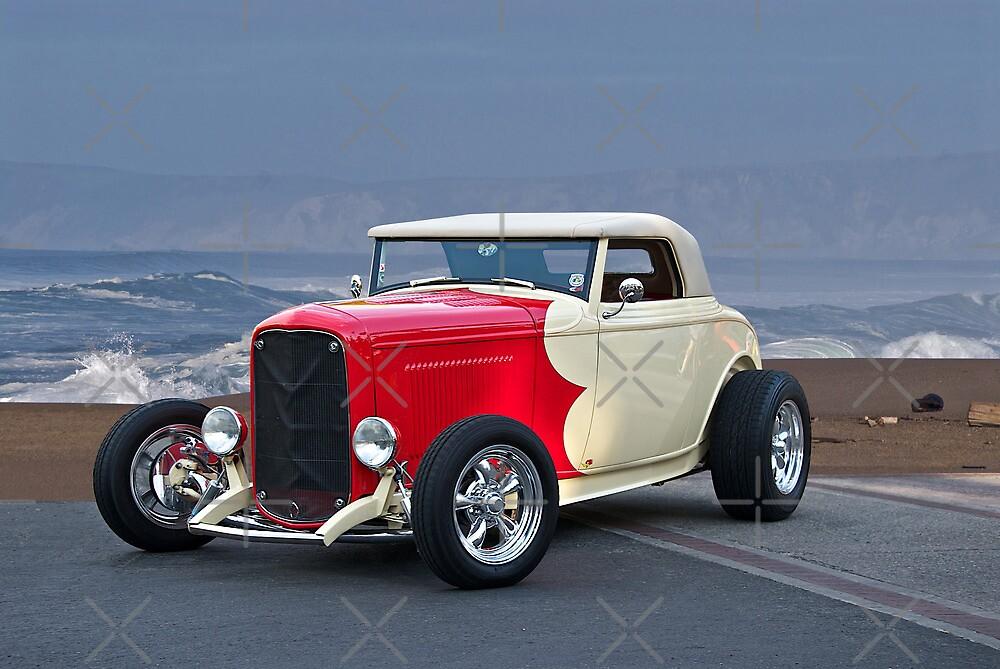 1932 Ford Roadster Beach'n Times by DaveKoontz