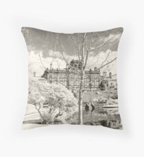 Biddulph Grange Hall Throw Pillow