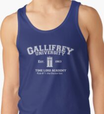 Gallifrey University Tank Top
