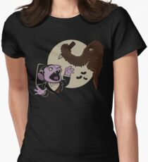 Snuffy The Vampire Slayer Womens Fitted T-Shirt