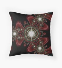 Points of Attraction Throw Pillow