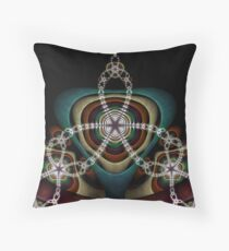 Chained Marble III Throw Pillow