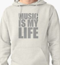 Music Is My Life Pullover Hoodie