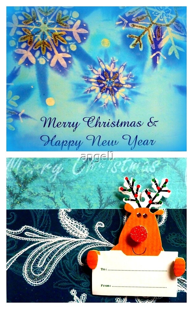 Merry Christmas & Happy New Year by ©The Creative  Minds