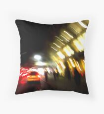 Escape From New York Throw Pillow