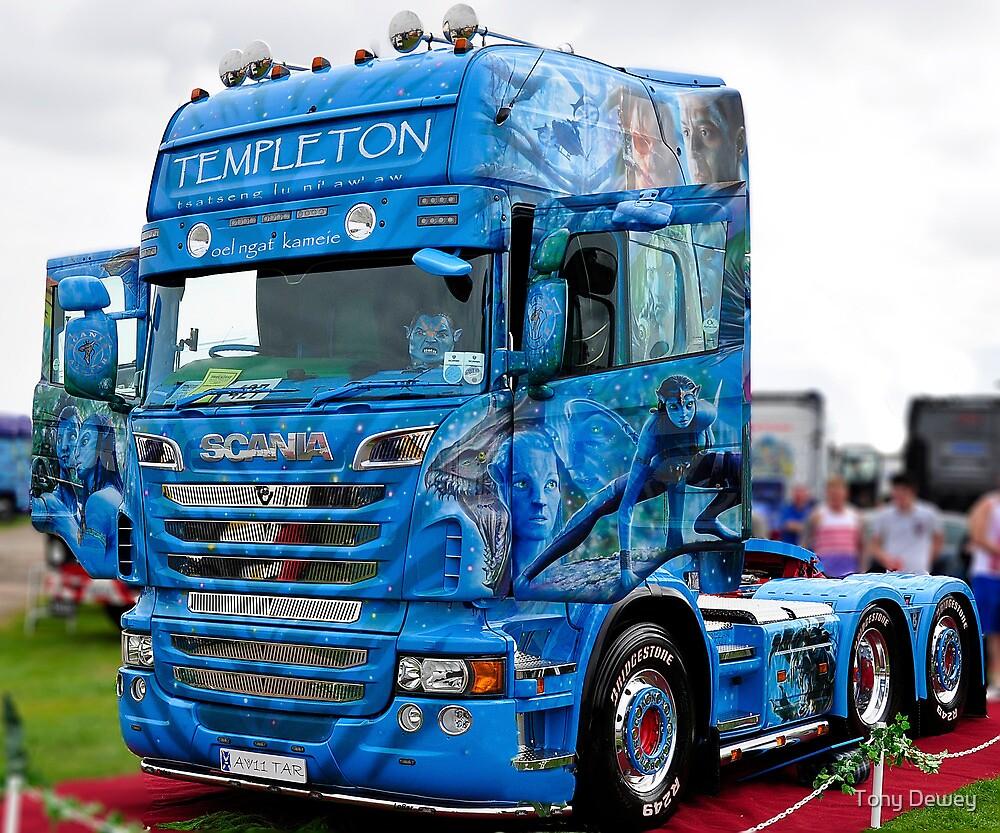 """""""Scania Avatar Truck"""" by Tony Dewey   Redbubble"""