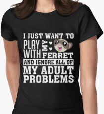 Ferret Women's Fitted T-Shirt