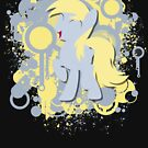 Derpy Splatter Silhouette  by LcPsycho