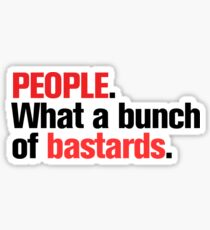 """People"" Version 1 Sticker"
