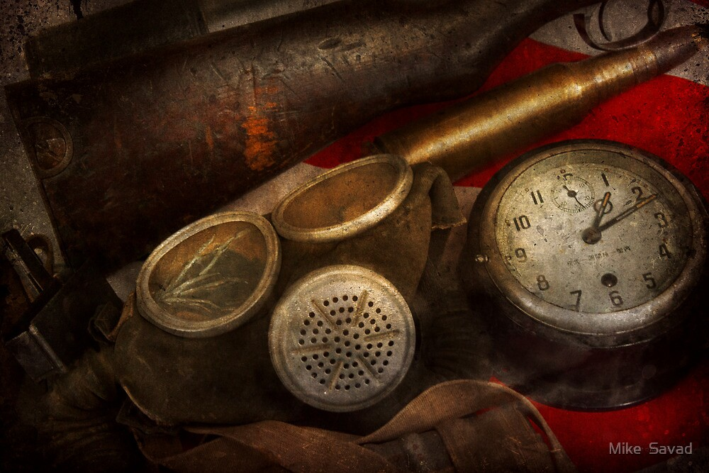 Steampunk - War - Remembering the war by Mike  Savad