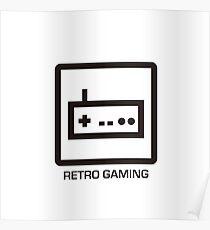 RETRO GAMING Poster