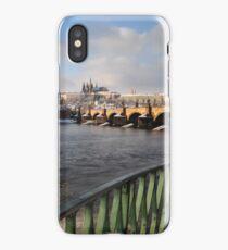 Vltava, Karlův most & Hradčany iPhone Case/Skin