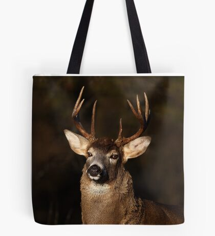 I am 'King' of this forest! - White-tailed Deer Tote Bag