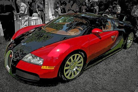 Bugatti Veyron by TeaCee