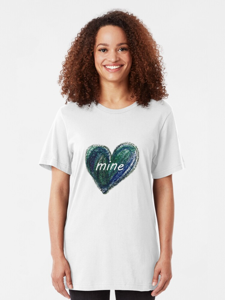 Alternate view of My own heart Slim Fit T-Shirt