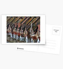 Postales Close Neighbours- Beer. Devon UK