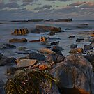 Dusk On Rocks by bazcelt