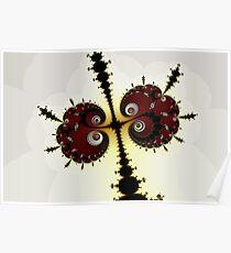 Spirals and Millipedes Poster