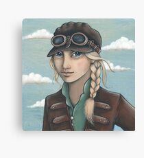 Sky Captain Canvas Print