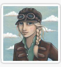 Sky Captain Sticker