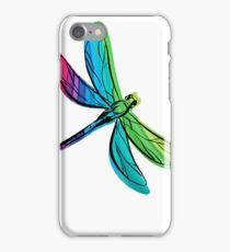 Rainbow Dragonfly iPhone Case/Skin