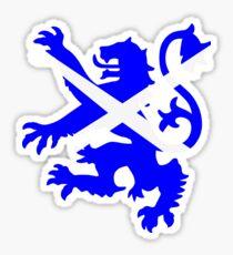 Scottish Rampant Lion Sticker