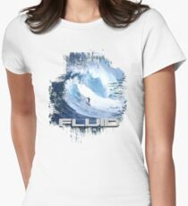 surf 4 Womens Fitted T-Shirt
