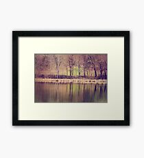 Spring Reflected Framed Print