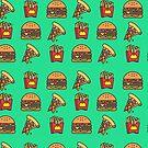 Fast food fantasies by Kevin James Bernabe