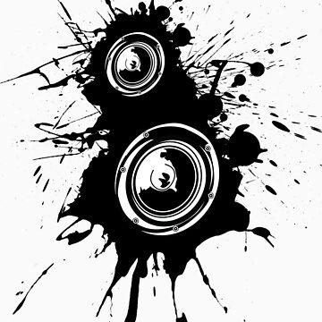 Speaker Splatter by rawrclothing