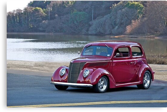 1937 Ford Sedan by DaveKoontz
