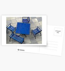 Table and Chairs Postcards