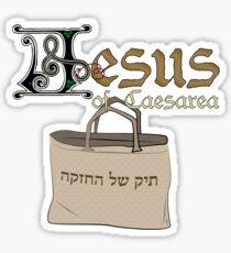 Believe in Jesus (of Caesarea) Sticker