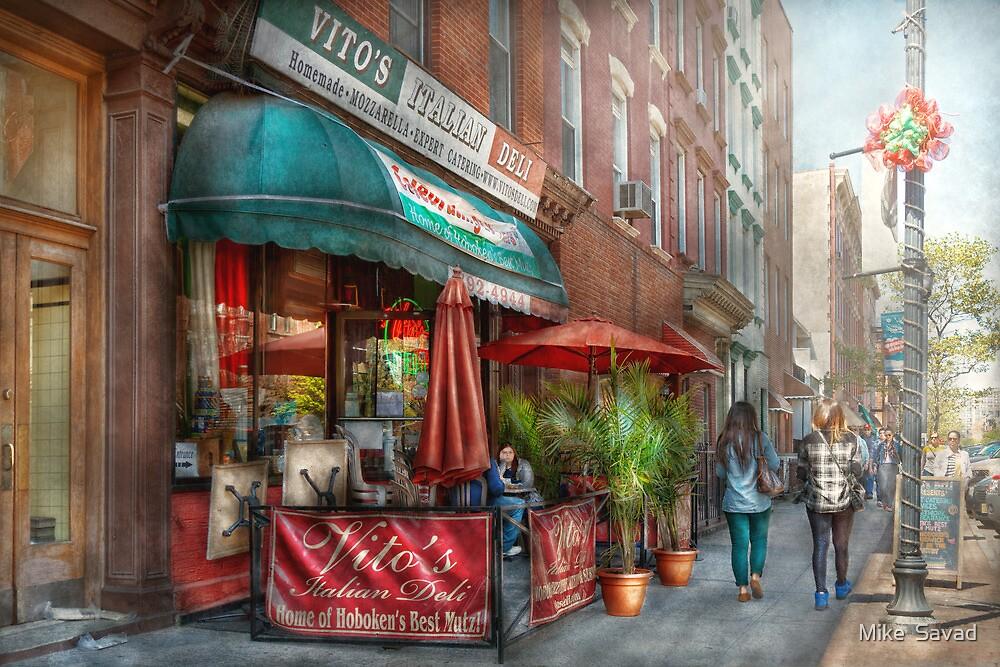Cafe - Hoboken, NJ - Vito's Italian Deli  by Michael Savad