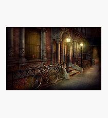 Bike - NY - Greenwich Village - In the village  Photographic Print