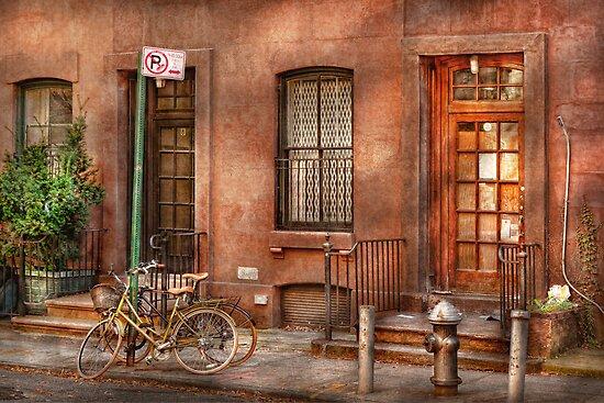Bike - NY - Urban - Two complete bikes by Michael Savad