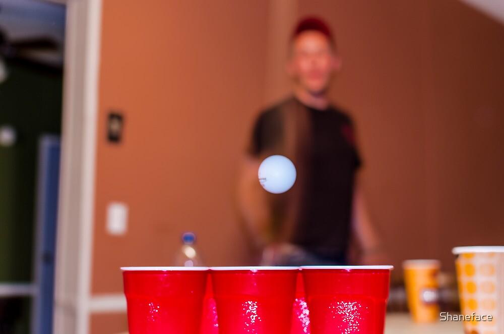 Beer Pong by Shane Asman