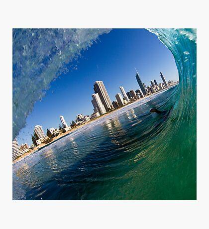 curlers paradise Fotodruck