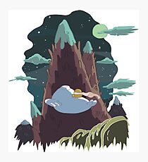 Bryce's Poster - Adventure Time Photographic Print